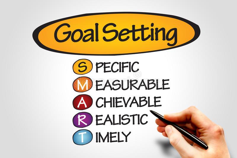 Goal Setting Stock Illustrations.