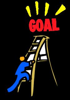 Goal Setting Clipart.