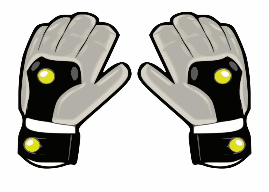 Related Soccer Goalie Gloves Clipart.