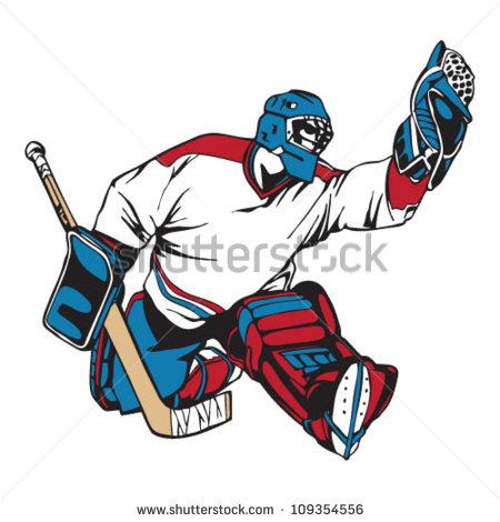 Hockey Goalie Stock Photos, Royalty.