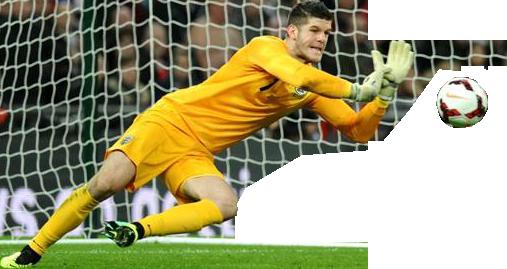 Fraser Forster England Goalkeeper.