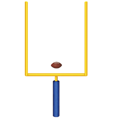 Clipart Football Goal Post.