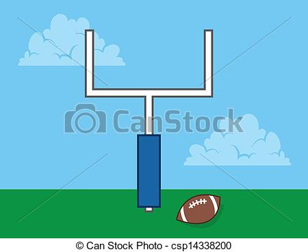 Goal post Stock Illustrations. 6,802 Goal post clip art images and.