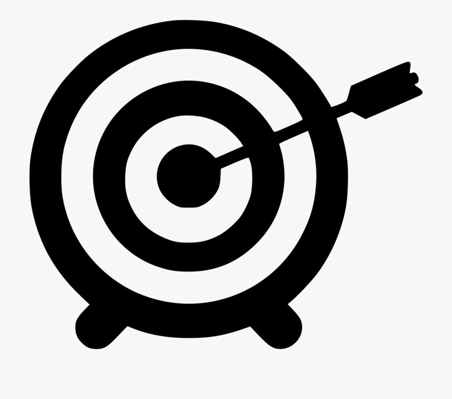 Aim Target Svg Icon.