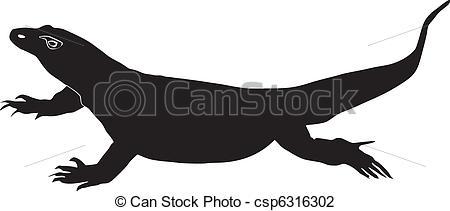 Goanna Vector Clip Art EPS Images. 7 Goanna clipart vector.