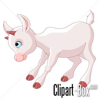 CLIPART BABY GOAT.