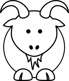 Simple Animal Coloring Pages.