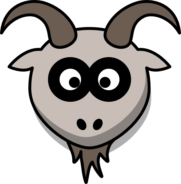 Goat Head Clip Art at Clker.com.