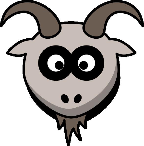 Goat Head Clip Art at Clker.com.