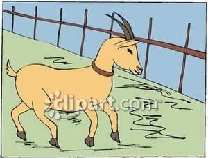 Goat house clipart.