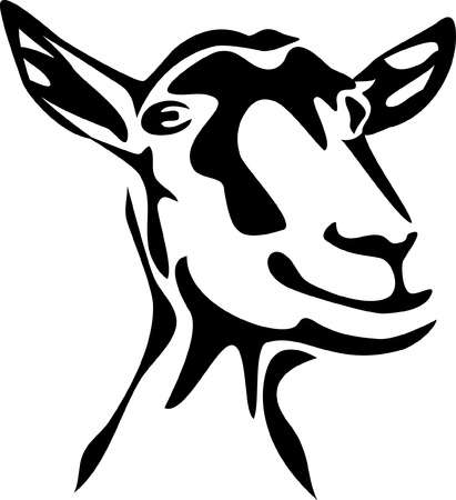 3,993 Goat Head Stock Vector Illustration And Royalty Free Goat Head.