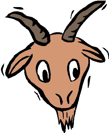 Goat head clipart » Clipart Station.