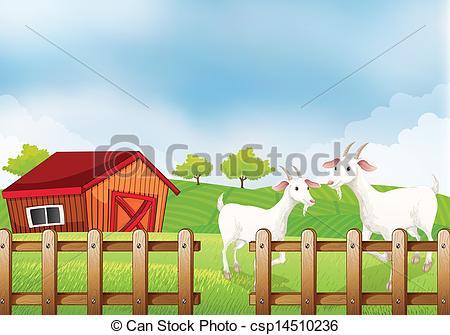 Farm Goat Clipart Images.