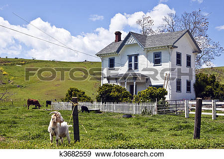 Stock Photograph of Goat House k3682559.
