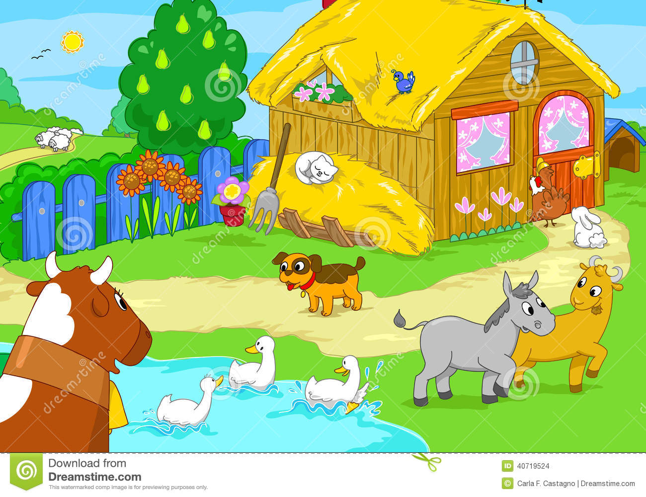 Showing Post Media For Cartoon House Animals