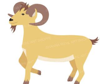 Goat clipart.