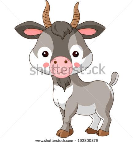 Baby Goat Stock Photos, Royalty.