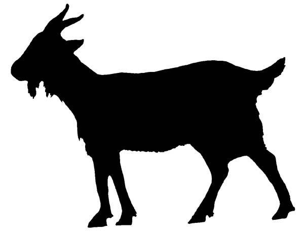 Goat Outline.