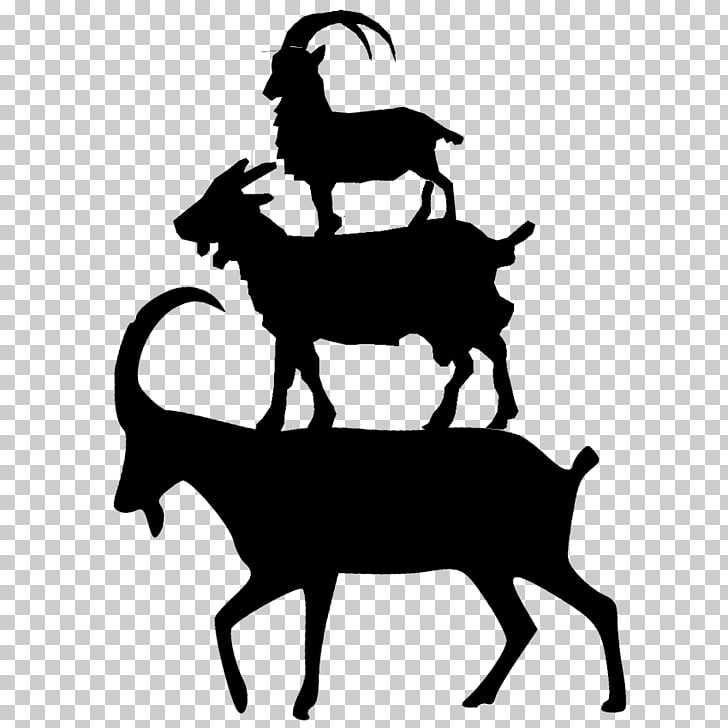 Goat Silhouette , goat PNG clipart.