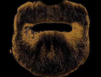 Black Beard transparent PNG.