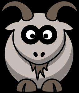 Goat horns clipart.