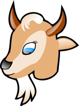 Goat, Clipart.