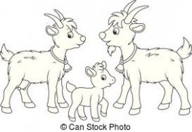 Five Moments To Remember From Kid Goat Clipart Black And.