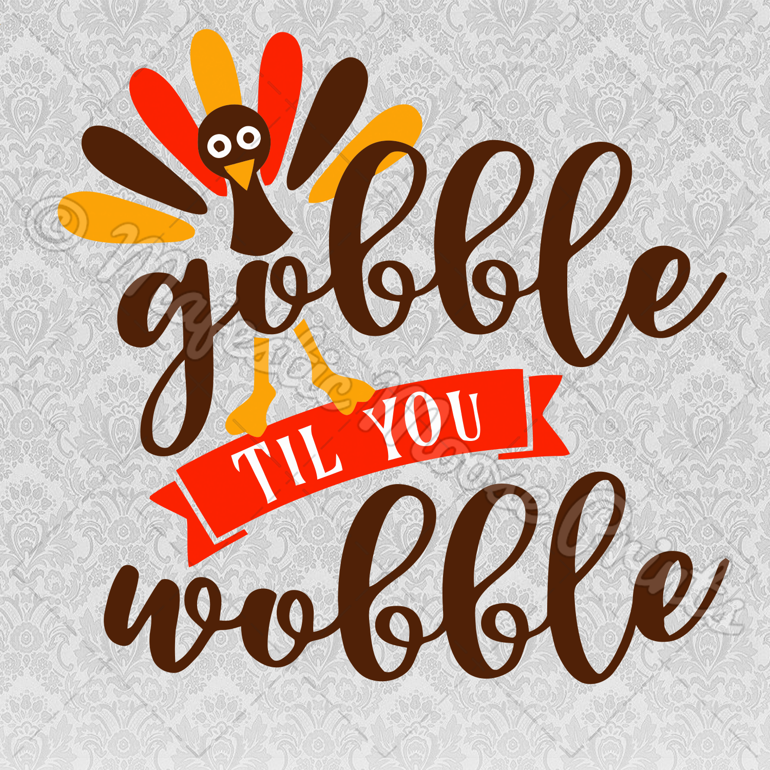 Gobble til you wobble clip art clipart images gallery for free.