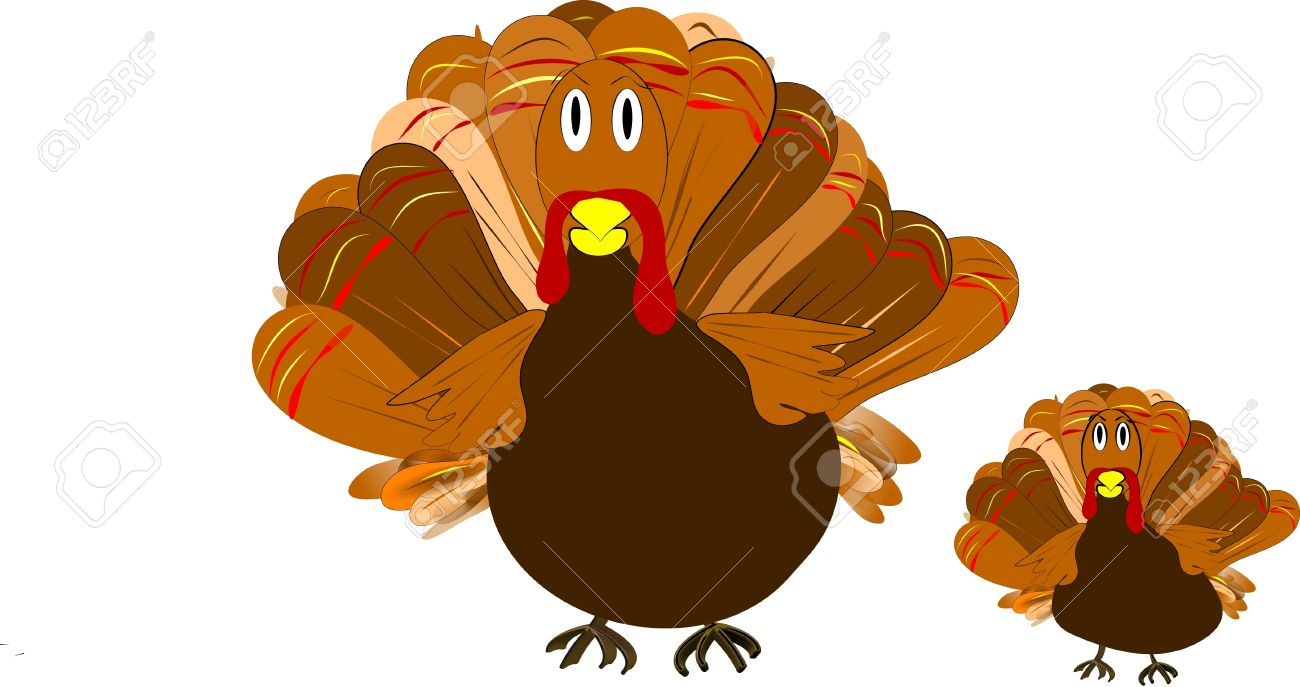 Turkey Clipart For Holidays Stock Photo, Picture And Royalty Free.