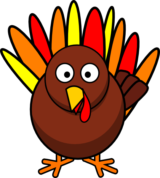 Round Turkey Clip Art Clip Art at Clker.com.
