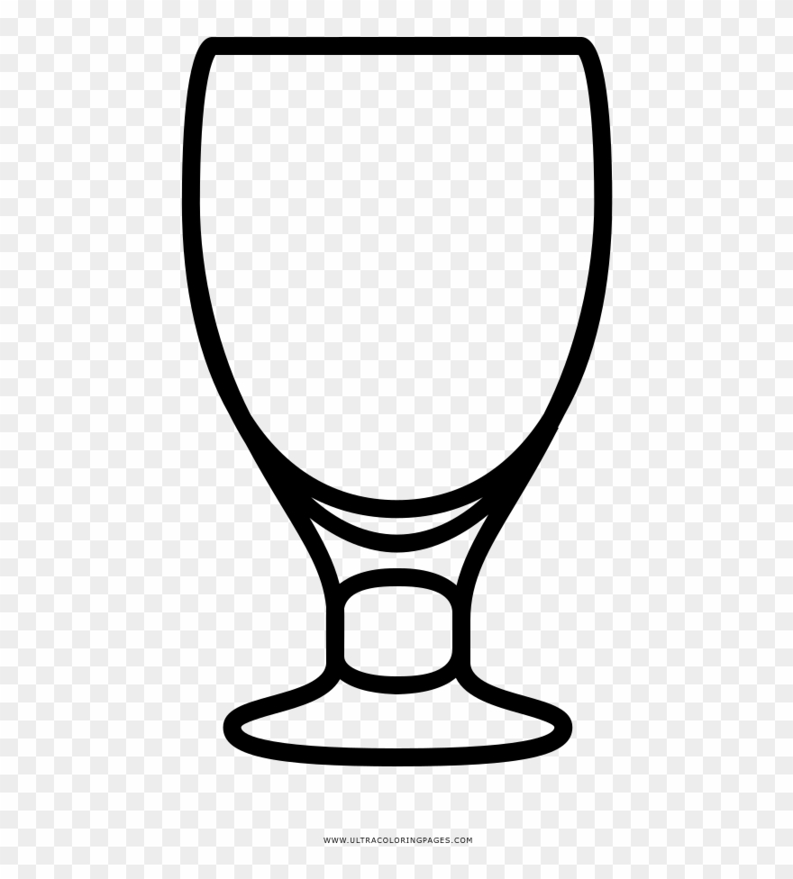 Goblet Coloring Page.