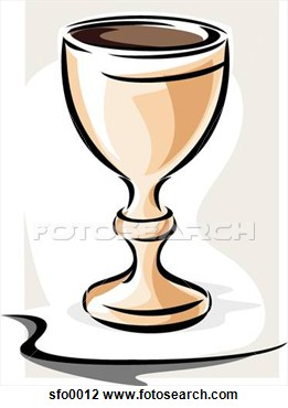 Pottery Goblet Clipart.
