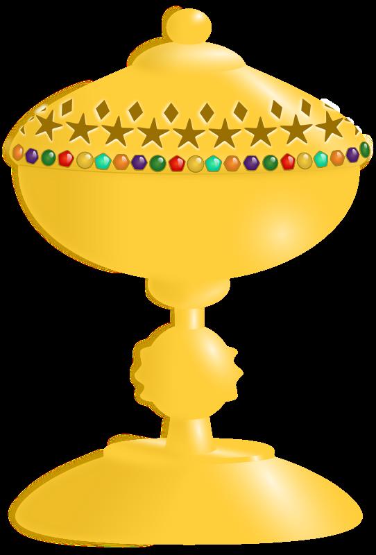 Free Golden Goblet Clip Art.