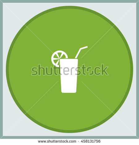 Berry Smoothie Plastic Cup Vector Illustration Stock Vector.