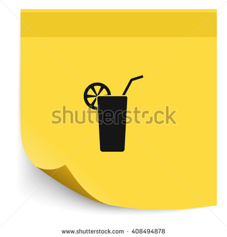 Goblet Cocktail Tube Icon Stock Vector 558223558.