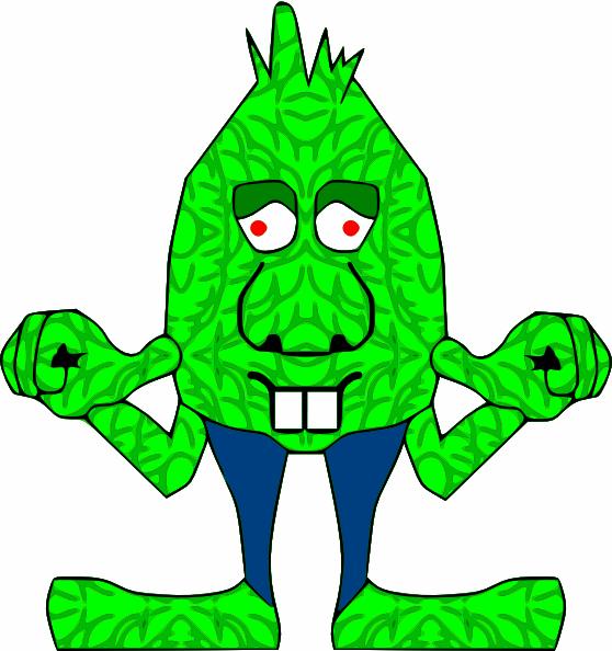 Green Goblin Clip Art at Clker.com.