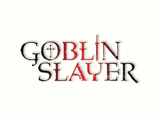 \'Goblin Slayer Anime Logo 2018\' Art Print by ThatFattGamer.