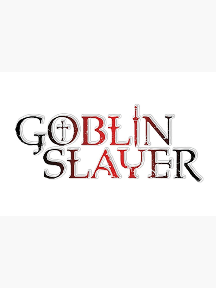 Goblin Slayer Anime Logo 2018.