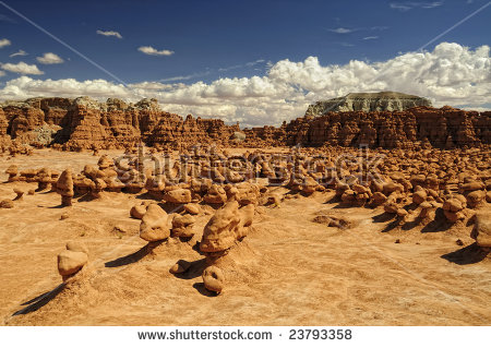 Goblin Valley State Park Stock Photos, Royalty.