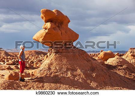 Stock Photography of Goblin valley k9860230.