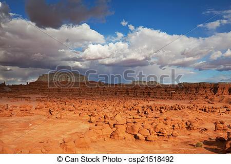Stock Photographs of Goblin valley.