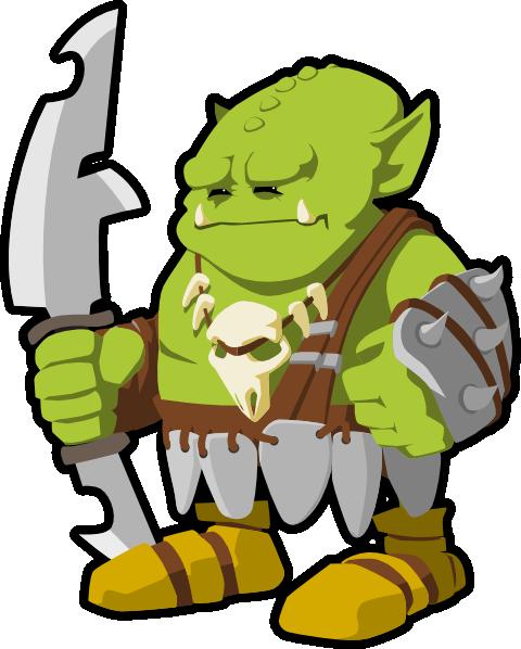 Goblin Clip Art at Clker.com.