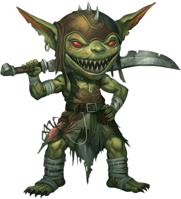 Goblin With Sword transparent PNG.