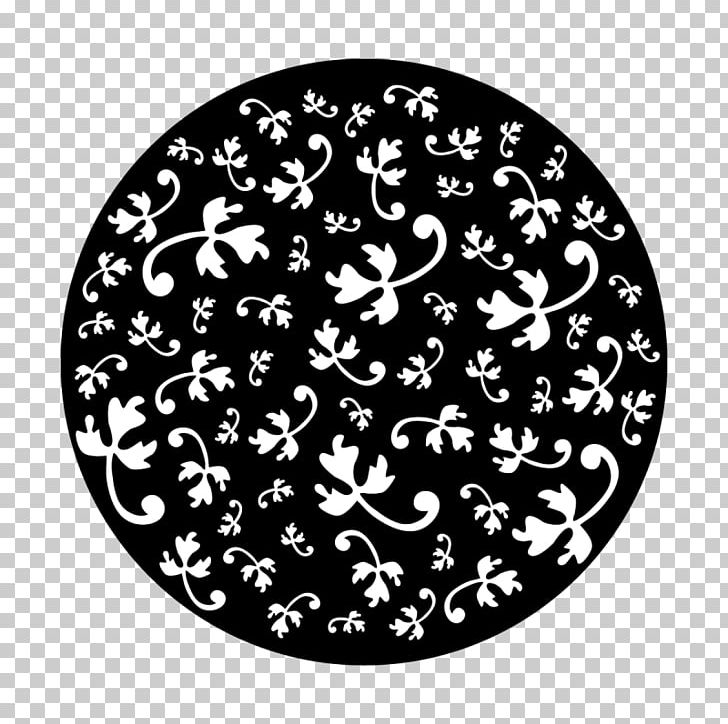 Gobo Metal Circle Leaf Design PNG, Clipart, Apollo, Black, Black And.