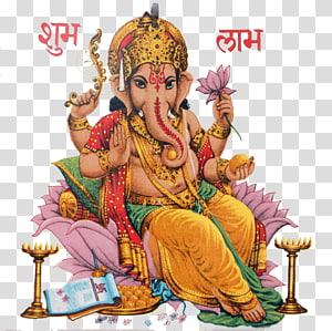 Ganesha Illustration, illustration like God transparent.