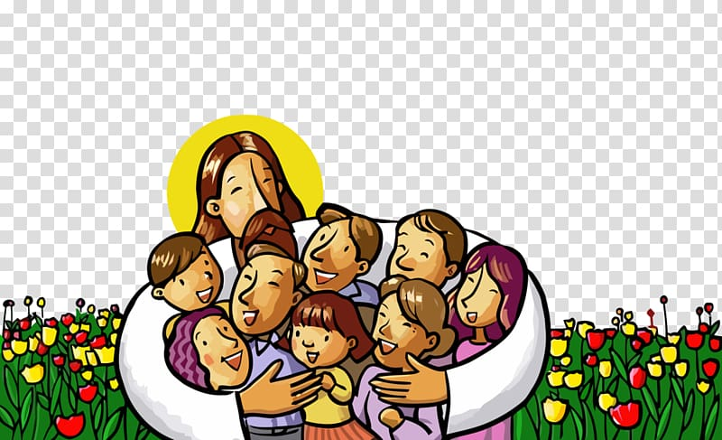 God Christ Bible Art, God transparent background PNG clipart.