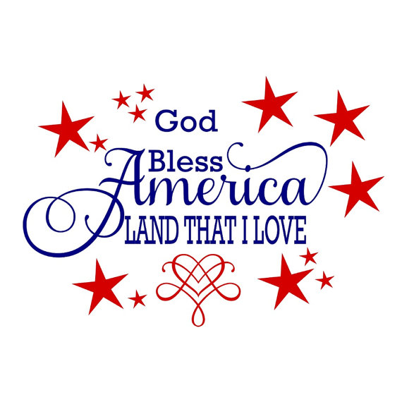 Free god bless america clipart 1 » Clipart Station.