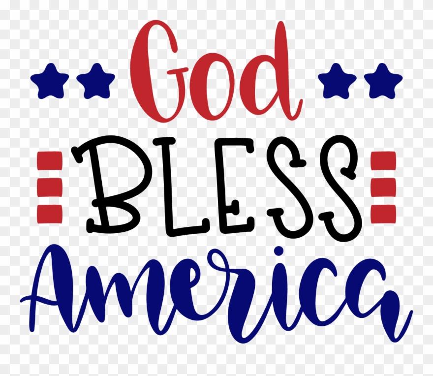 God Bless America Clip Art.