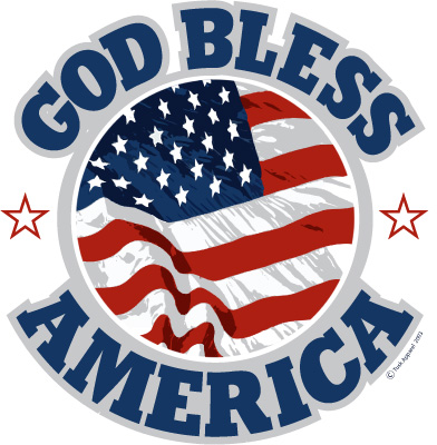 Free god bless america clipart 7 » Clipart Station.