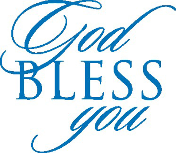 God bless you clipart 6 » Clipart Station.